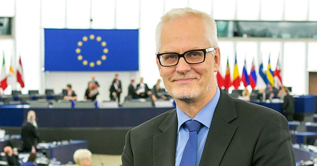 Petri Sarvamaa jatkamaan Euroopan parlamentissa