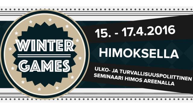 Winter Games 15.-17.4.