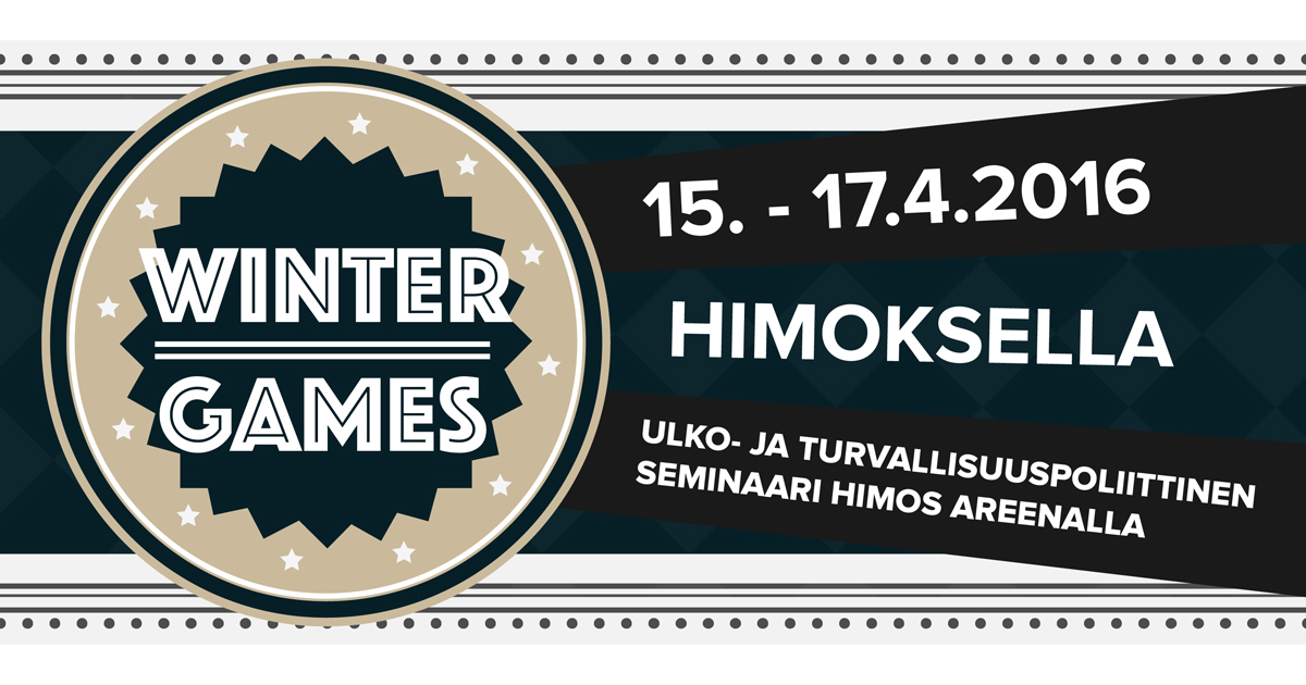 Winter Games 15.-17.4.