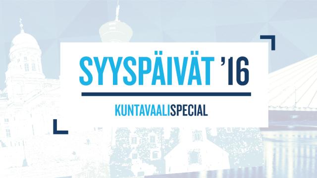 Syyspäivät '16: kuntavaalispecial