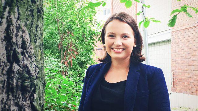 Kokoomusnuorten pääsihteeriksi Emma-Stina Vehmanen