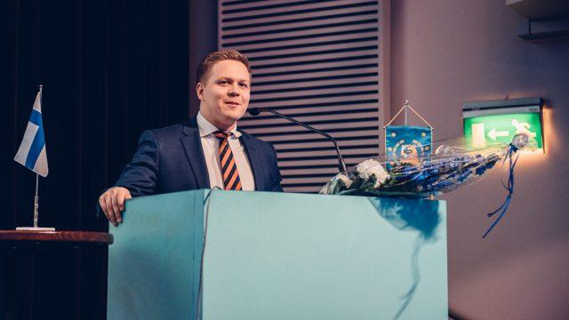 Henrik Vuornos Kokoomusnuorten puheenjohtajaksi