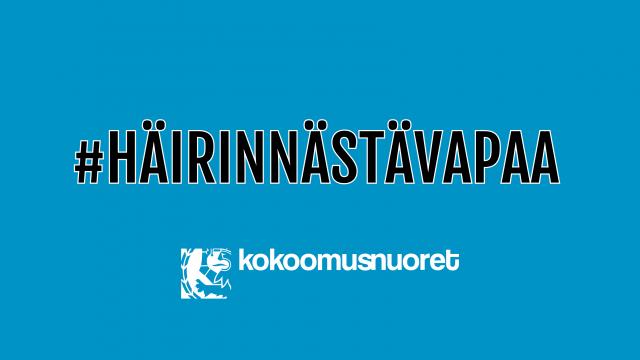 #Häirinnästävapaa Suomi