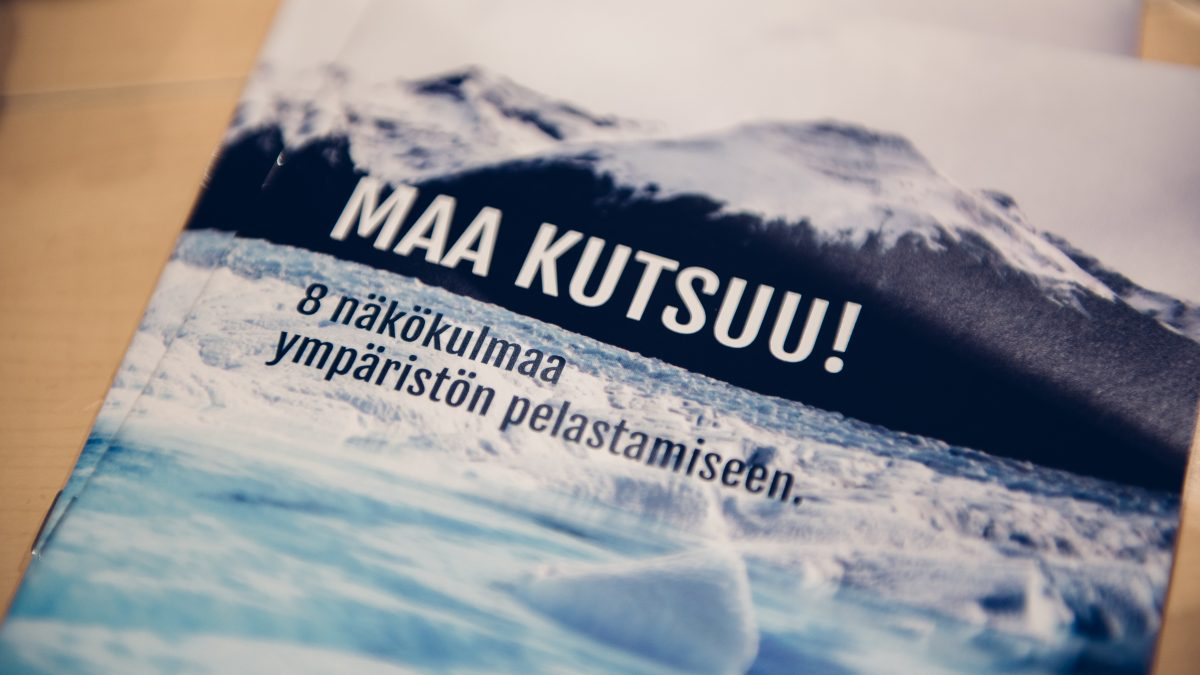 """""""Maa kutsuu!"""" Kokoomusnuorten ympäristöpoliittinen pamfletti julkaistu!"""