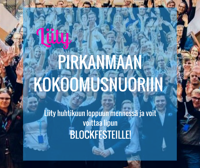 Voita lippu Blockfesteille!