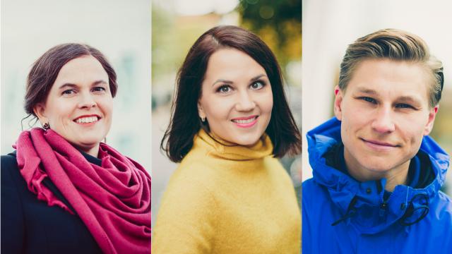 Kokoomuksen Nuorten Liitto tukee puolueen varapuheenjohtajiksi Grahn-Laasosta, Häkkästä ja Talvitietä