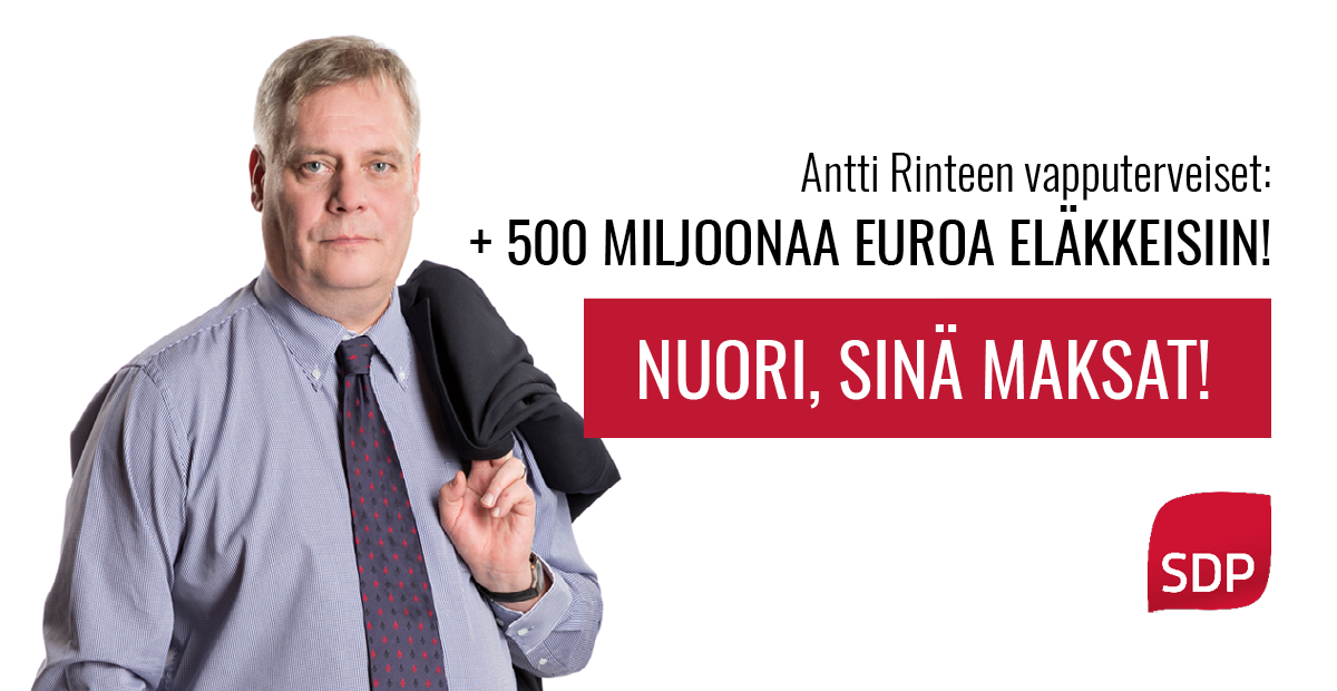 Kokoomusnuoret: Nuori, älä äänestä SDP:tä!