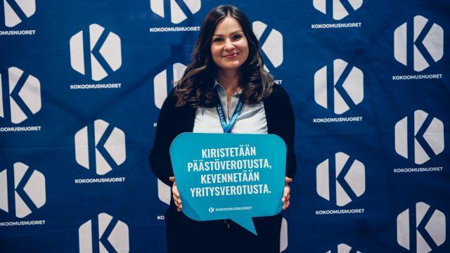 Mira Lindholm Kokoomusnuorten liittohallitukseen