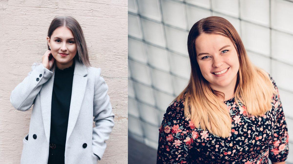 Emilia Knaapi ja Veronika Jokikokko aloittavat marraskuussa Kokoomusnuorten keskustoimistolla