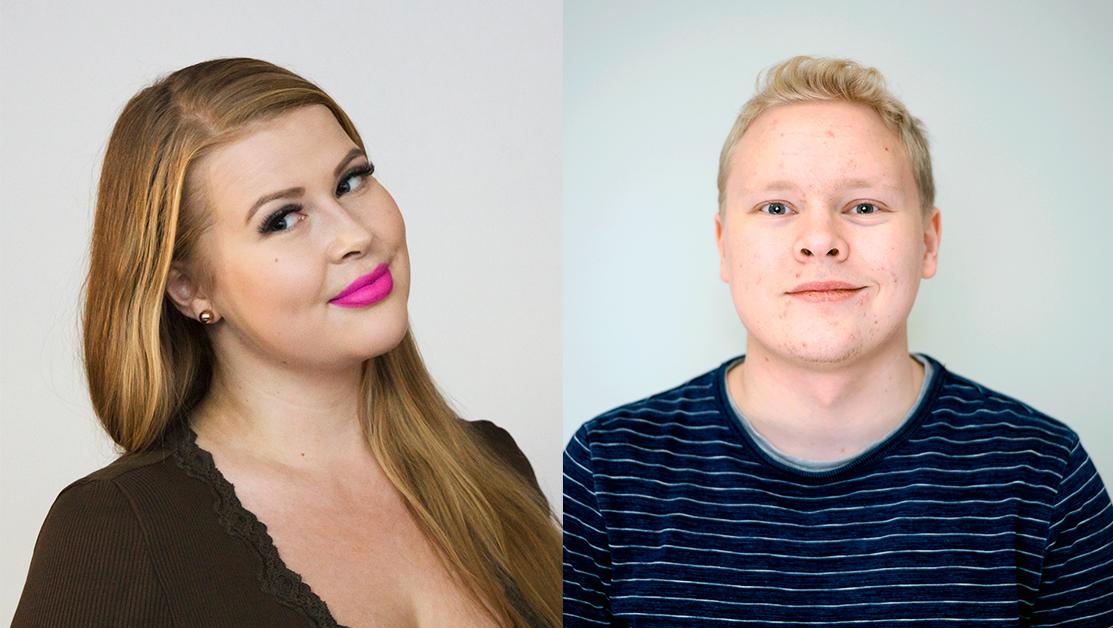 Kokoomusnuorten joukkue vahvistuu tammikuussa: Maria Kiiskinen aluekoordinaattoriksi ja Mikael Lehtonen järjestösuunnittelijaksi