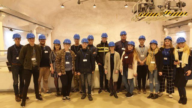 Vierailulla Olkiluodon ydinvoimalassa