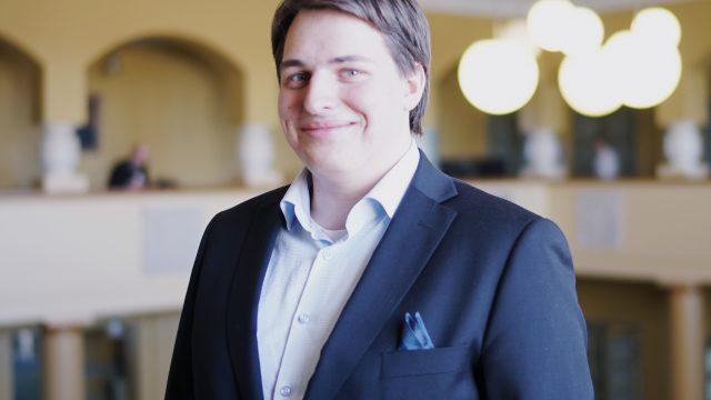 Nicholas Kujala Nuorten Pohjoismaiden Neuvoston presidentiksi
