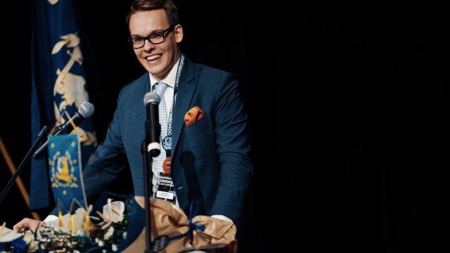 Matias Pajula valittu Kokoomusnuorten puheenjohtajaksi