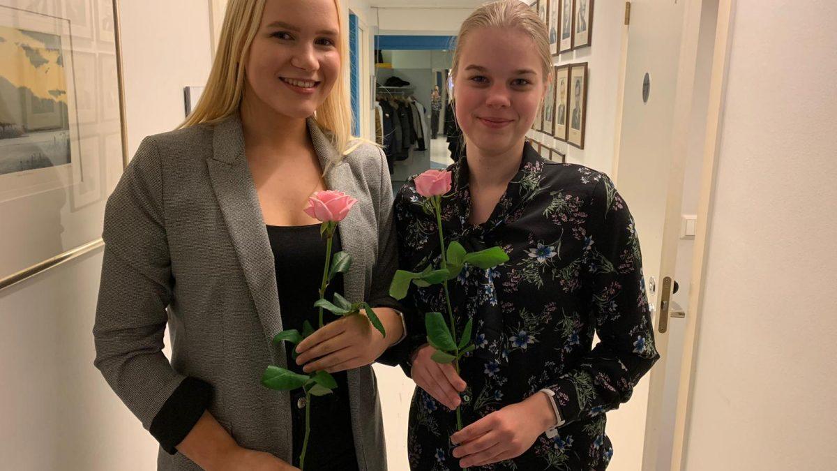 Johanna Hjelt Pirkanmaan Kokoomusnuorten puheenjohtajaksi
