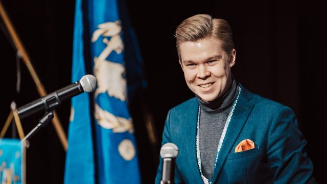 Juho Kärkkäinen Kokoomusnuorten pääsihteeriksi