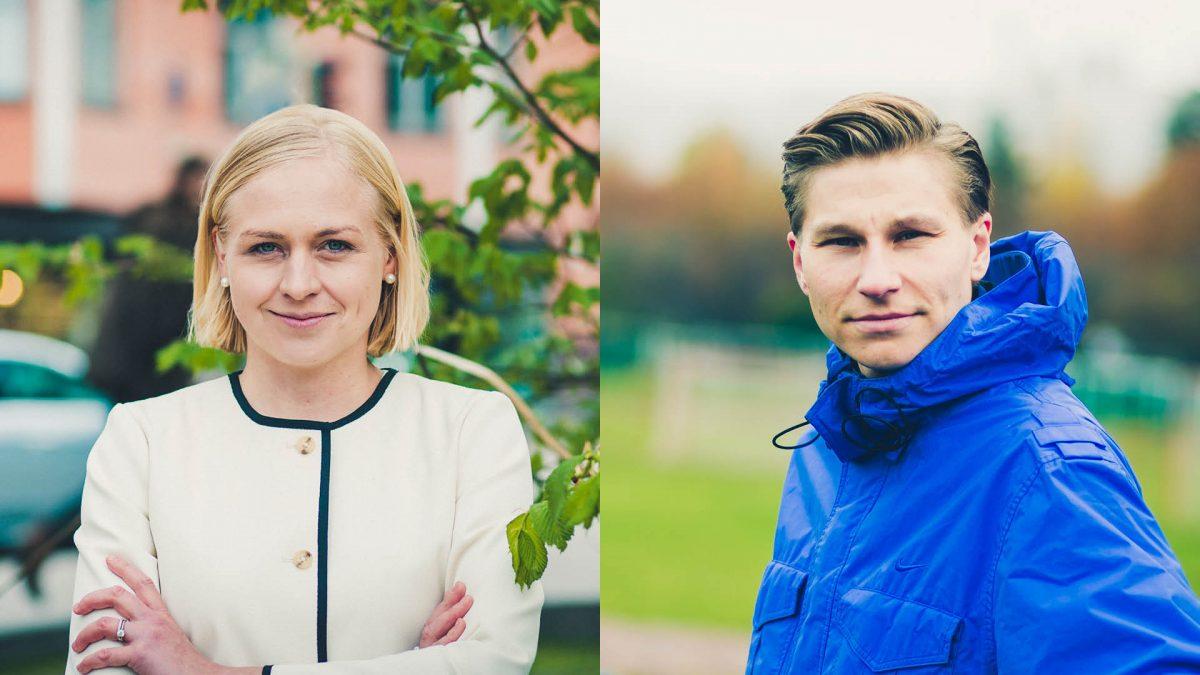 Kokoomusnuoret tukee Elina Lepomäkeä ja Antti Häkkästä kokoomuksen varapuheenjohtajiksi