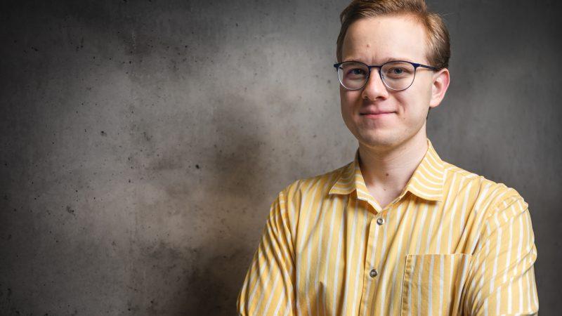 Antti Kivi Helsingin Kokoomusnuorten järjestökoordinaattoriksi