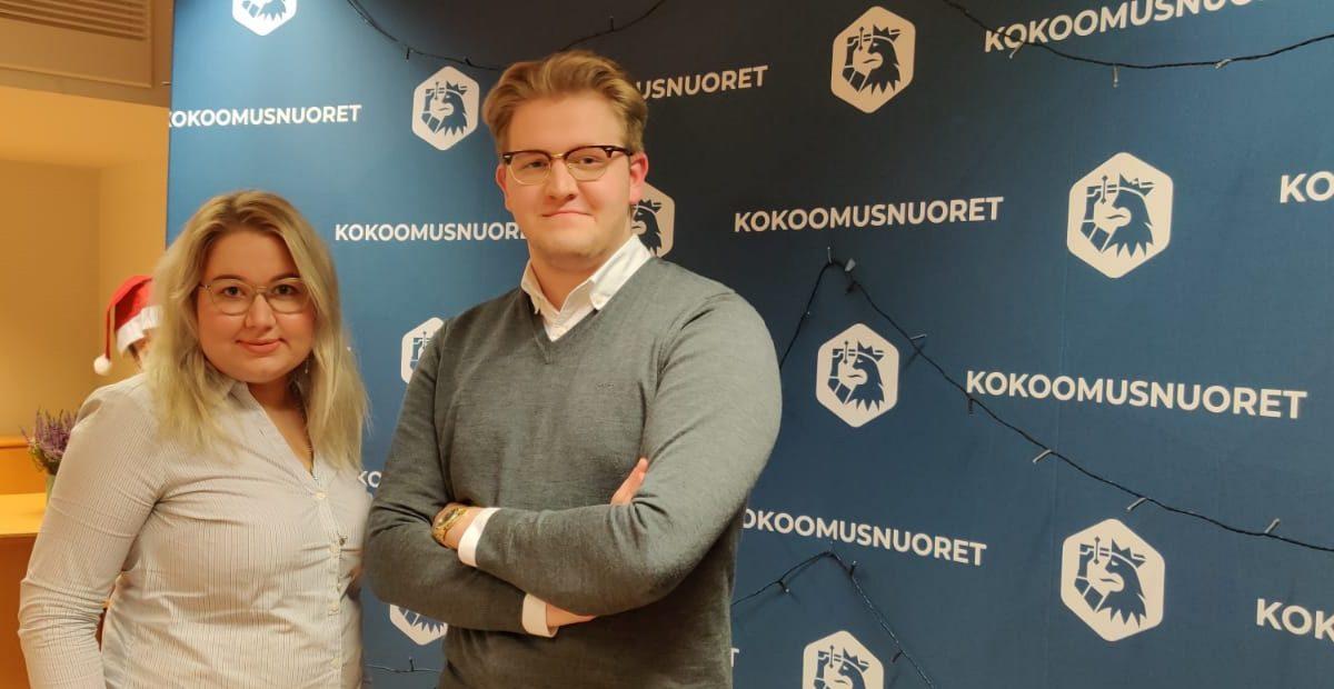 Emma Holsti Uudenmaan Kokoomusnuorten johtoon