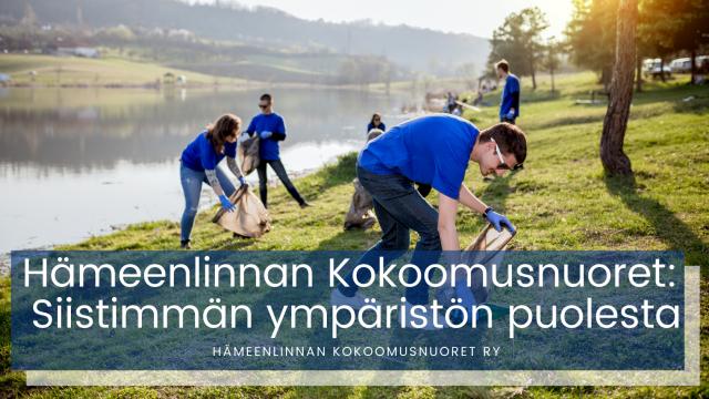 Hämeenlinnan Kokoomusnuoret: Siistimmän ympäristön puolesta
