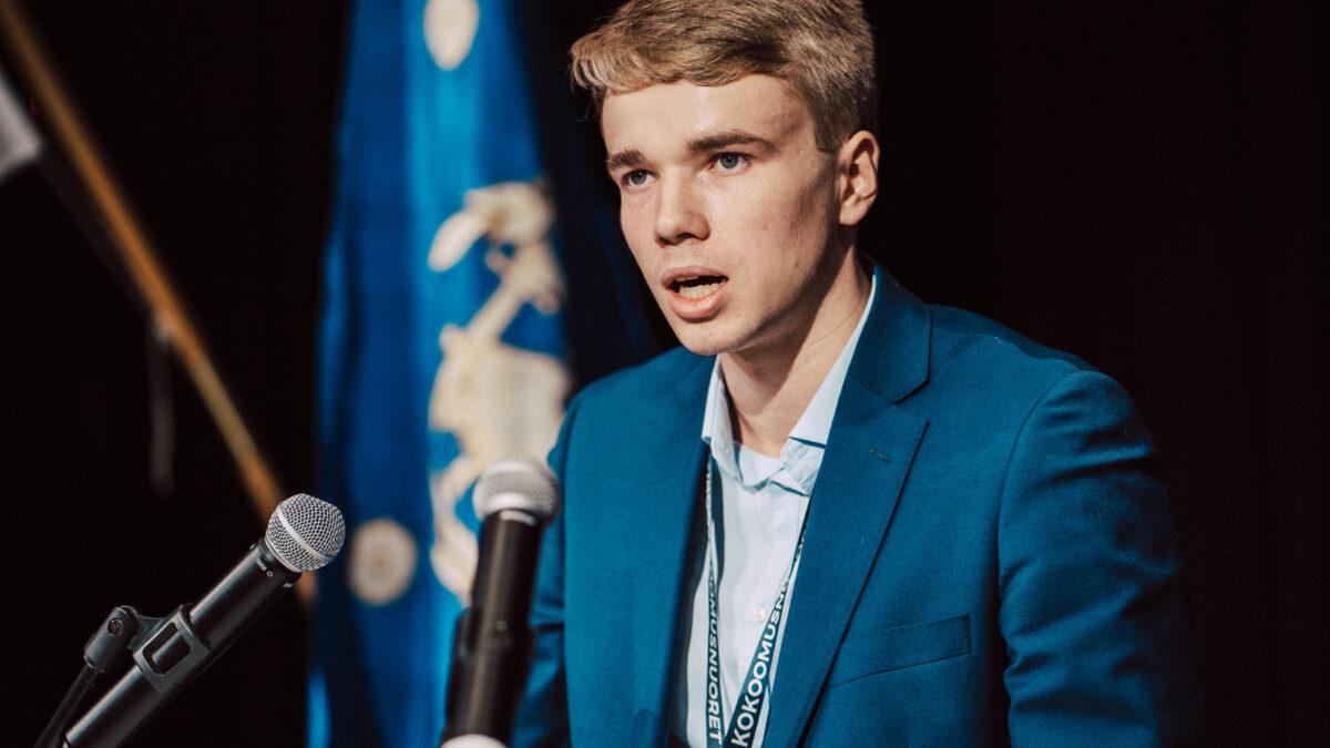 Pohjanmaan Kokoomusnuoret haluavat Hermanni Sankelon Kokoomusnuorten puheenjohtajakisaan