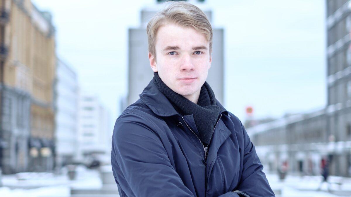 Oulun Läänin Kokoomusnuoret esittää Hermanni Sankeloa Kokoomusnuorten puheenjohtajaksi