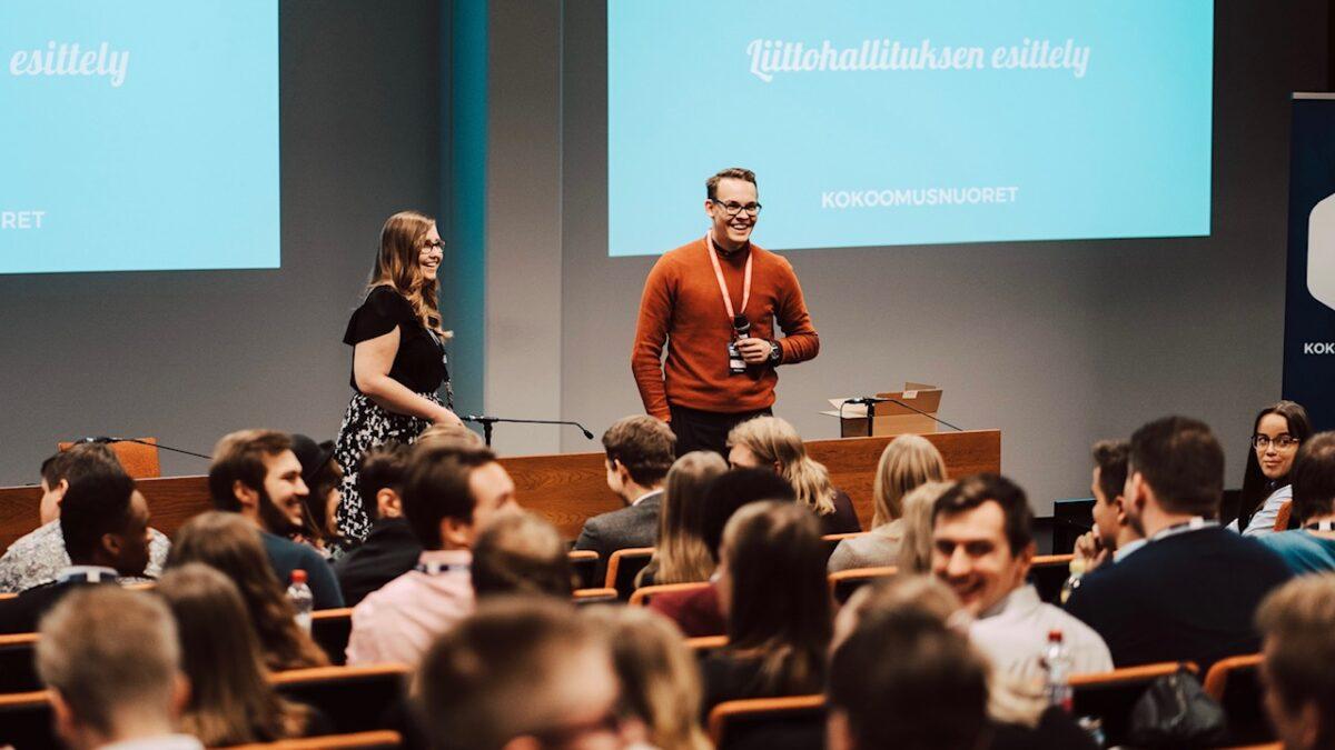 Kokoomusnuorten puheenjohtaja Matias Pajula: Kokoomuksen Nuorten Liitosta ja tulevaisuudesta