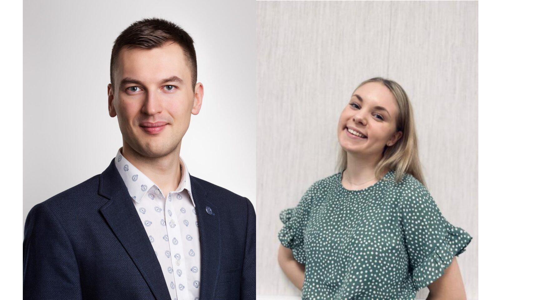Varsinais-Suomen Kokoomusnuoret tukee Aino Kovalaista ja Arvi Tolvasta Kokoomuksen Nuorten Liiton liittohallitukseen
