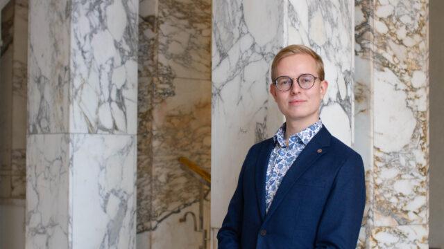 Toni Pakarinen ehdolla jatkokaudelle Kokoomuksen Nuorten Liiton liittohallitukseen